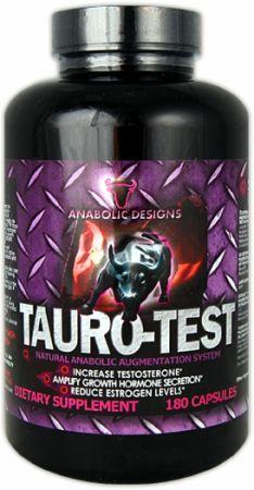 anabolic designs tauro test ingredients