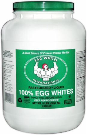 How much fat is in egg whites