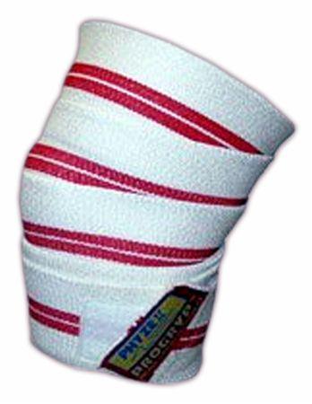 Deluxe Red Line Knee Wraps