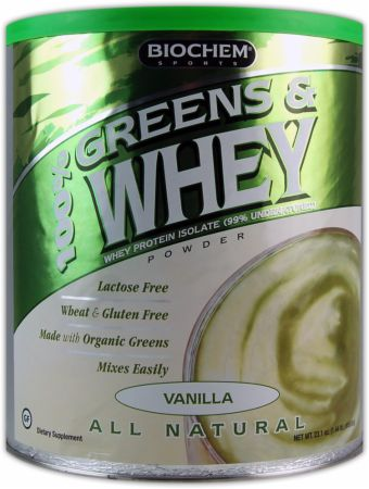 100% Greens & Whey