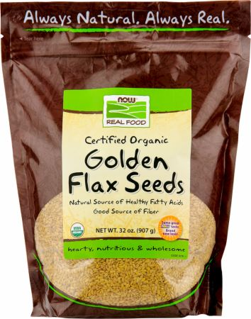 Golden Flax Seeds - Certified Organic