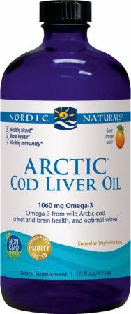 Nordic naturals arctic cod liver oil liquid at for Cod liver oil vs fish oil