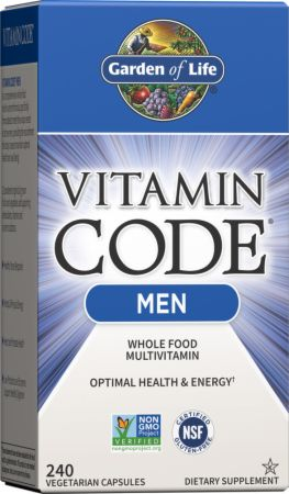 Garden of life vitamin code men at best - Garden of life multivitamin for men ...