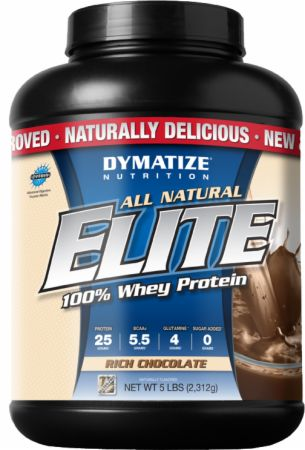 All Natural Elite 100% Whey Protein
