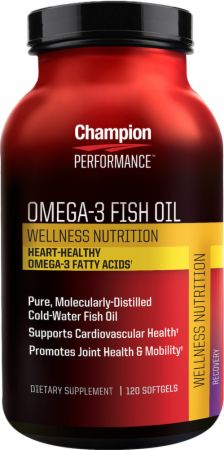 Champion omega 3 fish oil at best prices for Fish oil benefits bodybuilding