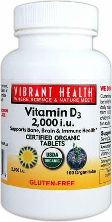 Vitamin D3 2000 I.U.