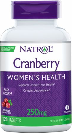 Natrol Cranberry Fast Dissolve