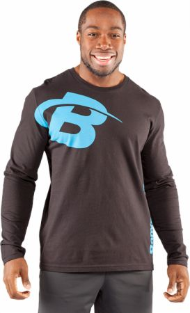 B Swoosh Long Sleeve Tee