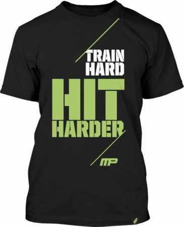Train Hard Hit Harder Tee