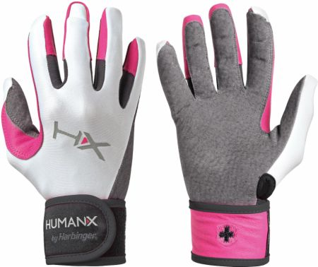 HumanX Women's X3 Competition Full Fingered WristWrap Gloves