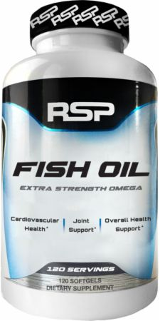 Fish oil by rsp nutrition at best for Fish oil benefits bodybuilding