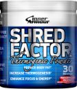 inner armour blue products pane shred factor thermogenic powder