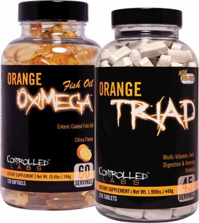 Controlled labs orange triad orange oximega fish oil at for Fish oil for bodybuilding