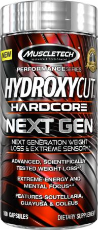 Hydroxycut Hardcore Next Gen by MuscleTech at Bodybuilding ...