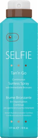 Tan 'n Go Continuous Sunless Spray With Immediate Bronzers
