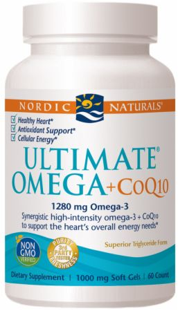 Ultimate omega coq10 by nordic naturals at bodybuilding for Coq10 and fish oil