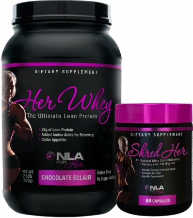 NLA for Her Whey and Shred Bundle