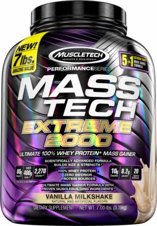Mass tech protein powder