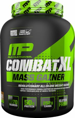 MusclePharm Combat XL Mass Gainer at Bodybuilding.com