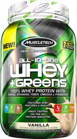 All-in-One Whey + Greens