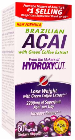 Brazilian Acai with Green Coffee Extract