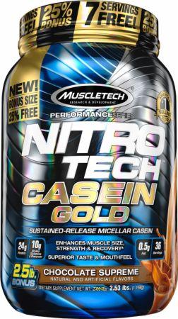 Nitro-Tech Casein Gold Protein