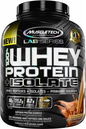 100% Whey Protein + Isolate