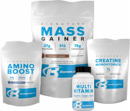 Signature Mass Gainer Stack
