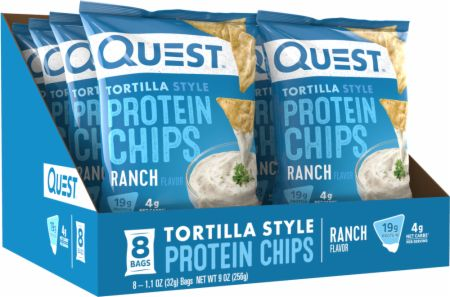 Tortilla Style Protein Chips