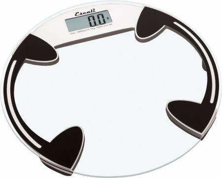 Round Glass Bathroom Scale