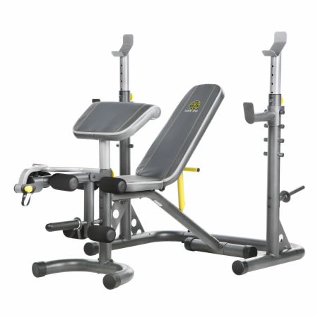 XRS 20 Adjustable Bench With Preacher & Leg Curl Attachments