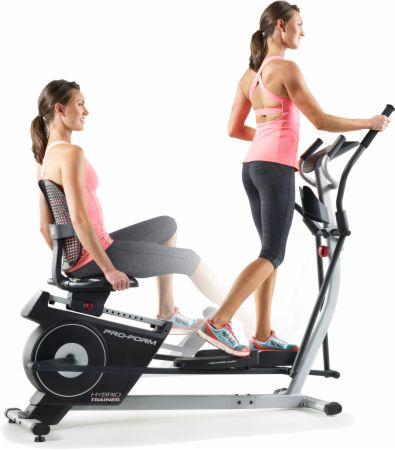 Hybrid Trainer Elliptical & Recumbent Bike