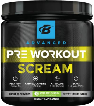 Scream Pre-Workout