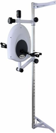 Magneciser Pedal Exerciser With Height Adjustable Wall Mount Bracket
