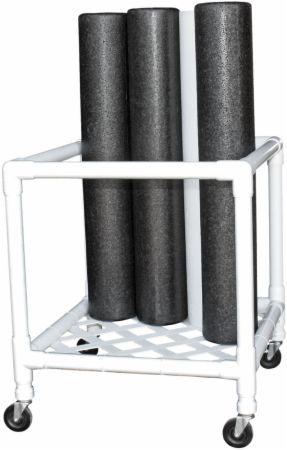 Foam Roller Upright Storage Rack