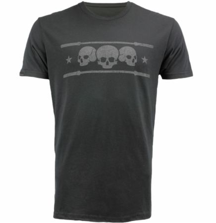 Blackout Collection Triple Skull T-shirt
