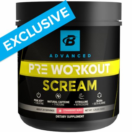 Scream Pre-Workout - NEW
