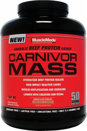 Carnivor Mass by MuscleMeds at Bodybuilding.com - Best Prices on