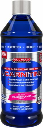 Liquid L-Carnitine by AllMax Nutrition at Bodybuilding.com - Best ...