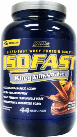 ISOFAST Whey Milkshake