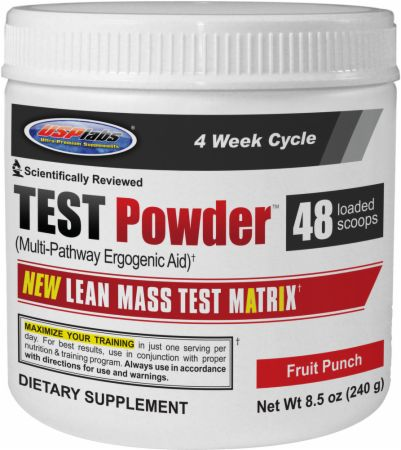 USPlabs TEST Powder 240 гр