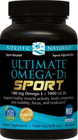 Ultimate Omega-D3 Sport