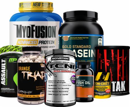 Bodybuilding.com - Men's Muscle Gain 40+ Combo - Advanced