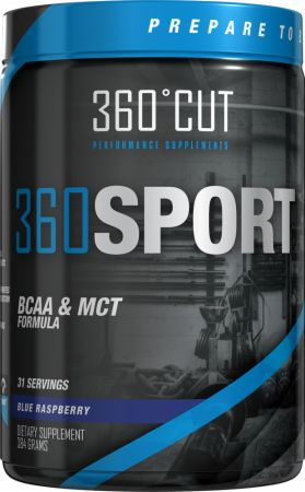 Image of 360CUT 360SPORT 384 Grams Blue Raspberry