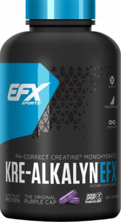 EFX Sports Kre-Alkalyn EFX 240 Capsules - Creatine