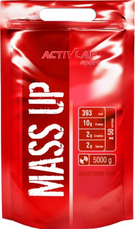 Image of ACTIVLAB Mass Up 5000 Grams Strawberry