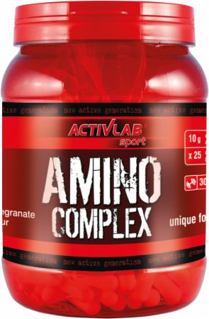 Image of ACTIVLAB Amino Complex 300 Tablets Pomegranate