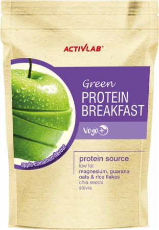 Image of ACTIVLAB Green Protein Breakfast 750 Grams Apple Cinnamon