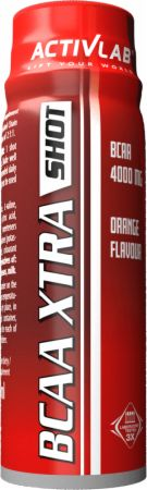 Image of ACTIVLAB BCAA Xtra Shot 12 x 80ml Shots Orange