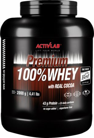 Image of ACTIVLAB Premium 100% Whey 2000 Grams Milk Chocolate